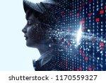 ai  artificial intelligence ... | Shutterstock . vector #1170559327