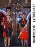 kisama heritage village  kohima ... | Shutterstock . vector #1170580657