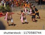 kisama heritage village  kohima ... | Shutterstock . vector #1170580744
