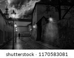 Alley Of Prague  Located In The ...