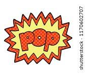 comic book style cartoon pop... | Shutterstock .eps vector #1170602707
