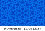 abstract kaleidoscope pattern.... | Shutterstock .eps vector #1170612154