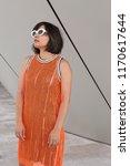 beautiful young indian woman...   Shutterstock . vector #1170617644