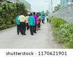 procession of the bridegroom   Shutterstock . vector #1170621901