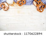 oktoberfest food menu  bavarian ...   Shutterstock . vector #1170622894