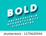 modern bold font design ... | Shutterstock .eps vector #1170630544