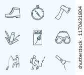 vacation icons line style set...   Shutterstock .eps vector #1170631804