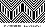 seamless pattern with striped... | Shutterstock .eps vector #1170631927