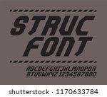 struc font set italic | Shutterstock .eps vector #1170633784