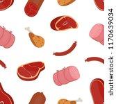 decorative seamless pattern... | Shutterstock .eps vector #1170639034