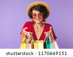 photo of shopaholic woman 20s... | Shutterstock . vector #1170669151