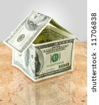 money house with reflection | Shutterstock . vector #11706838