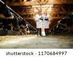 full length portrait of two...   Shutterstock . vector #1170684997