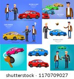 design concept of choice and... | Shutterstock .eps vector #1170709027