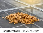 close up of dried banana in... | Shutterstock . vector #1170710224