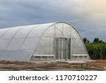 greenhouse solar dryer ... | Shutterstock . vector #1170710227