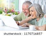 portrait of a senior couple... | Shutterstock . vector #1170716857