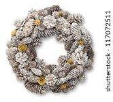 White Christmas Door Wreath...