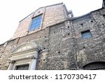 front of the baroque church ... | Shutterstock . vector #1170730417