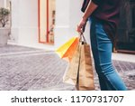 consumerism  shopping lifestyle ... | Shutterstock . vector #1170731707