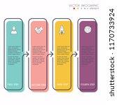 vector info graphics for your... | Shutterstock .eps vector #1170733924
