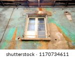 old and damaged uninhabited... | Shutterstock . vector #1170734611