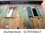 old and damaged uninhabited... | Shutterstock . vector #1170734617