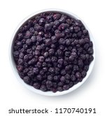 bowl of freeze dried... | Shutterstock . vector #1170740191