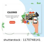 online casino website homepage...