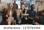mixed ethnicity group watching...   Shutterstock . vector #1170761464