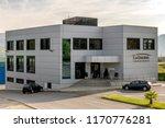ponferrada  spain. circa august ... | Shutterstock . vector #1170776281
