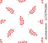vector seamless pattern of red... | Shutterstock .eps vector #1170794284