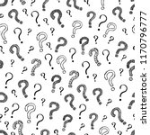question mark seamless pattern... | Shutterstock .eps vector #1170796777