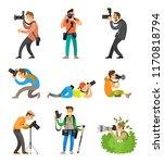 photographers or... | Shutterstock .eps vector #1170818794