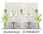 interior scene of modern... | Shutterstock .eps vector #1170838237