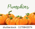 background of orange autumn... | Shutterstock .eps vector #1170842074