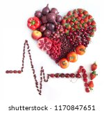 cardiogram icon with heartshape ... | Shutterstock . vector #1170847651