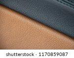 black brown leather stitch...   Shutterstock . vector #1170859087