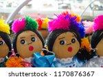 mexican rag dolls | Shutterstock . vector #1170876367