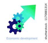 smart investment  technical... | Shutterstock .eps vector #1170881314