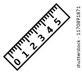vector black outline icon  ... | Shutterstock .eps vector #1170891871