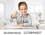 confident elementary aged... | Shutterstock . vector #1170894007