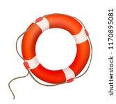 life buoy. red lifebuoy. vector ...   Shutterstock .eps vector #1170895081