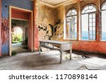 spooky interior of abandoned... | Shutterstock . vector #1170898144