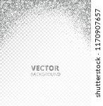 sparkling glitter border  frame.... | Shutterstock .eps vector #1170907657