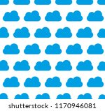 seamless pattern  cloud art... | Shutterstock .eps vector #1170946081