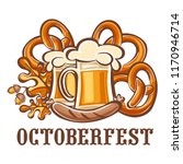 octoberfest holiday icon.... | Shutterstock .eps vector #1170946714