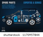 spare parts  expertise and... | Shutterstock .eps vector #1170957844
