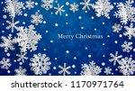 christmas illustration with... | Shutterstock .eps vector #1170971764
