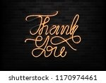 vector realistic isolated neon... | Shutterstock .eps vector #1170974461